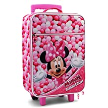 Karactermania Minnie Mouse Bubblegum  Equipaje Infantil, 46 cm, 26 Litros, Rosa