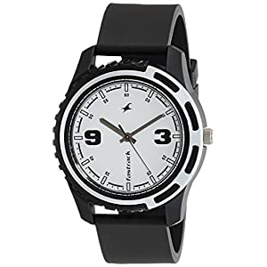 Fastrack Casual Analog White Dial Men's Watch NM3114PP01 / NL3114PP01