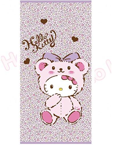 Kitty Strandtuch 76,2x 152,4cm 100% Baumwolle Bad Dusche Pink Leopard Muster -