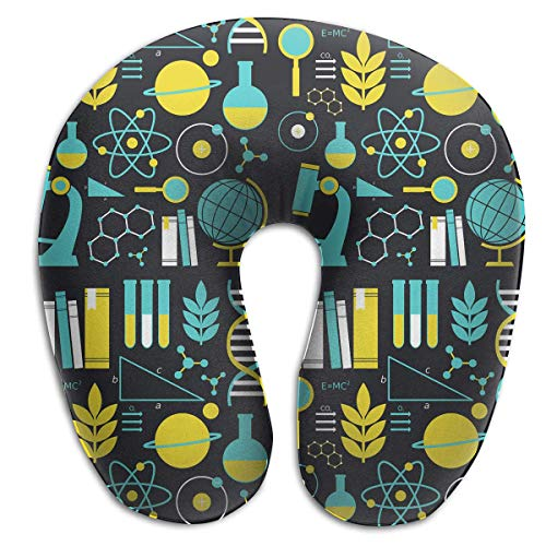 Great Gifts U Shaped Memory Foam Almohada de Viaje con Neck Head Cushion Support Rest Outdoors Car Office...