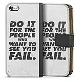 DeinDesign Apple iPhone 5c Étui Étui Folio Étui magnétique Do it for The People