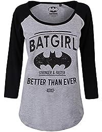 Batman - Better Than Ever Long Sleeve Femme T-Shirt - Gris
