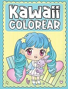 Colorear Kawaii: Libro para Colorear