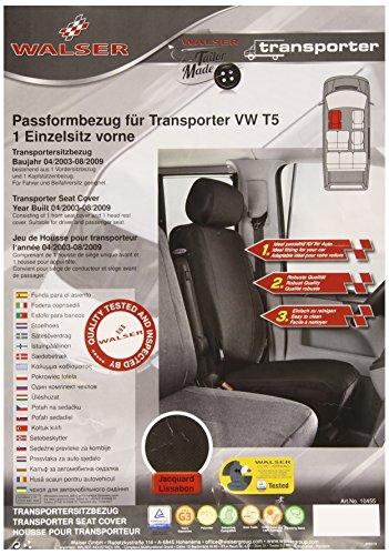 Preisvergleich Produktbild Walser VW Transporter T5 Sitzbezug für Einzelsitz vorne
