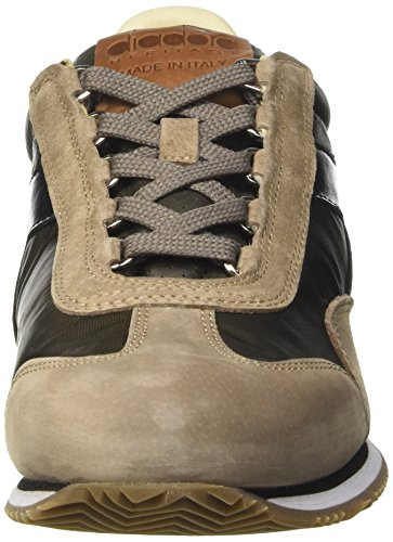 Diadora Equipe Ita, chaussure de sport homme Marrone (Grape Leaf/Walnut)