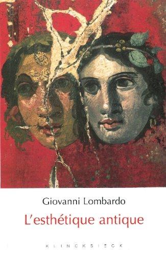 L'esthétique antique par Giovanni Lombardo