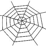 Fdit Spider Props Safe Reusable Plush Halloween Decor for Bar Company School Festival(S-Black Net)