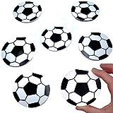 German Trendseller 12 x Notizblöckchen - Fußball - für Kinder ★ NEU ★ ┃ Kindergeburtstags ┃ Mitgebsel ┃ 12 Stück