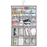 Best MetroDecor Home Organizers - mDesign Fabric Baby Nursery Closet Organizer for Hats Review