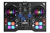 Hercules DJ Control Instinct P8 (2-Deck DJ Controller, 8 Performance-Pads, integr. Soundkarte, DJUCED 40, PC / Mac)