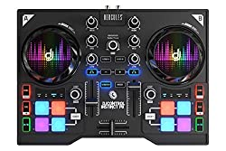Hercules DJ Control Instinct P8 (2 Deck DJ Controller, 8 Performance Pads, Integrated Sound Card, DJUCED 40 °, PC / Mac)