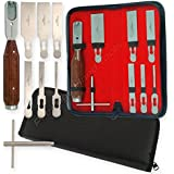PTL® Prestige Chisel System Interchangeable Handle and 6 blades and wrench Orthopedic