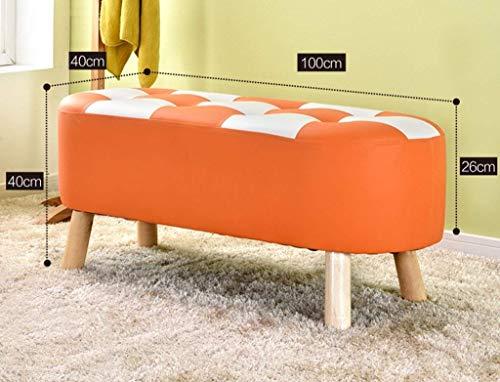 Cambia sgabello da scarpe in legno massello sgabello per il divano