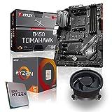 Memory PC Aufrüst-Kit Bundle AMD Ryzen 5 2600X 6X 3.6 GHz, 16 GB DDR4, MSI B450 Tomahawk, komplett fertig montiert und getestet