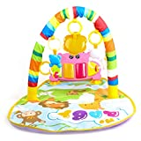 Baybee Kick and Play Newborn Toy with Piano for Baby 1-36 Month, Lay and Play, Sit and Play, Activity Toys, Play Mat Activity Gym for Baby