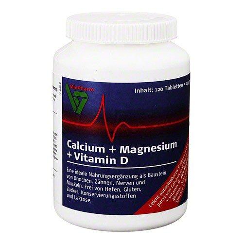 MinPharm Ca, Mg + Vitamin D Tab. 120St.