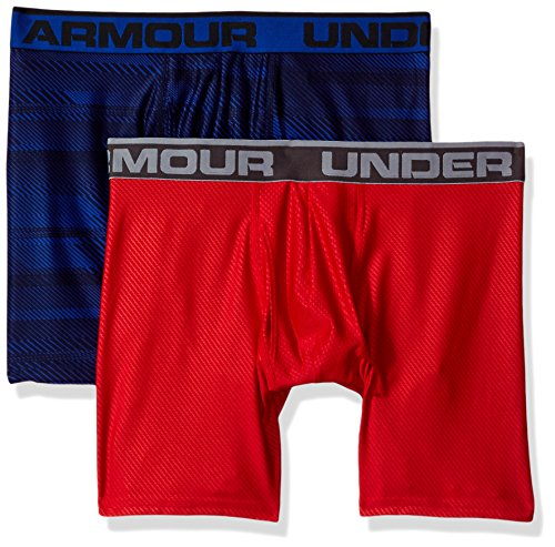 Original 6in 2 Pack Novlty Unterhose, Royal / Red, M ()