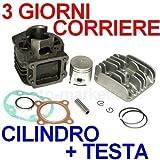 50 cc CILINDRO GRUPPO TERMICO TESTA KIT per MBK SORRISO a 1996 BOOSTER SPIRIT - Unbranded - amazon.it