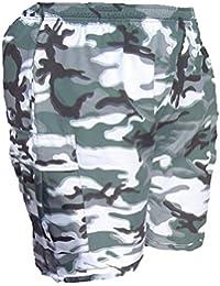 Homme Casual Cool Bleu Nuit Multi Poche Camouflage Cargo pour Homme New M L XL XXL