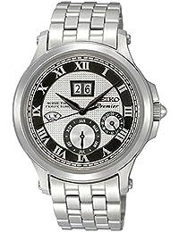 Seiko De los hombres Watch Premier Kinetic Perpetual Reloj SNP047P1