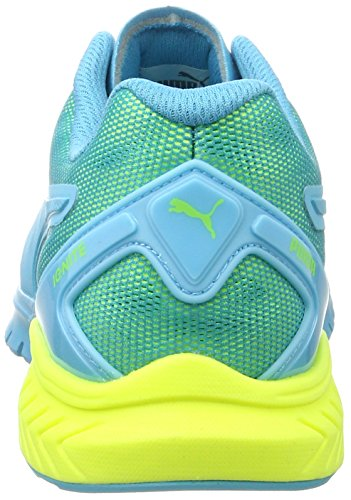 Puma Ignite Dual, Chaussures de Running Entrainement Femme Bleu (Blue Atoll-safety Yellow 08)