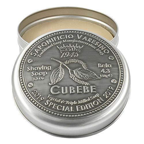 Saponificio Varesino Cubebe Deluxe Hart Rasierseife 150g Puck - Harte Rasierseife