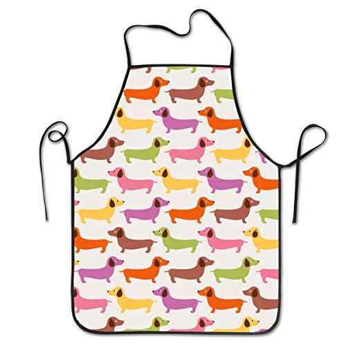 Oder König Katze Kostüm Hunde - HTETRERW Aprons for Women - Waterproof and Easy Clean Kitchen Cooking Apron Cartoon Cute Short Pussy Cat Waist Bib, Durable Polyester with Suitable Side/Neck Ties, Convenient and Soft Bib Aprons
