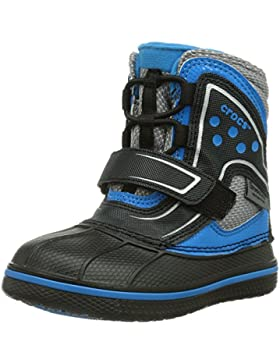 crocs Unisex-Kinder Allcast Waterproof Boot Gummistiefel