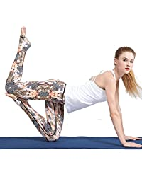 Gimitunus Leggings de Mujer Pantalones de Yoga Europa y Estados Unidos Step Foot Yoga Slim Thin