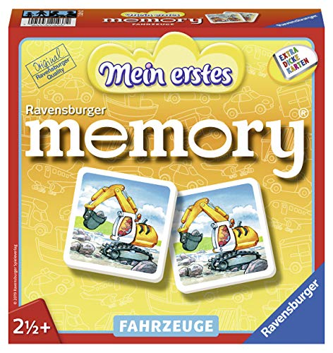 Ravensburger 21437 Mein erstes Memory Fahrzeuge - Memory
