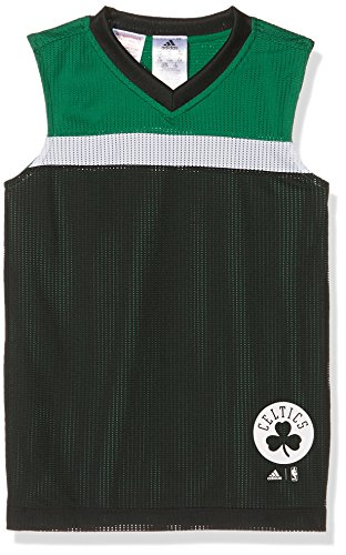 adidas Jungen Nba Boston Celtics Winter Hoops Reversibel Trikot, Green, 152