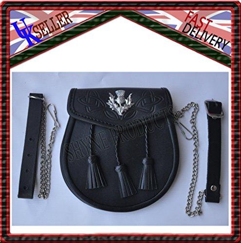 leather-embossed-sporran-leather-3-tassels-thistle-crest-day-wear-sporran