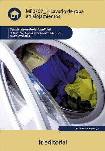 Lavado de ropa en alojamientos. HOTA0108 por José Francisco del Pozo Aguilar