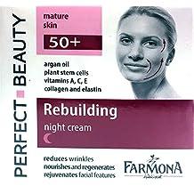 Crema de noche pieles maduras / Argán, células madre vegetales,colágeno, liposomas, elastina Vits A,C y E 50ml