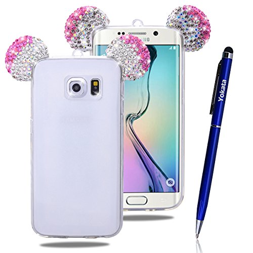 Custodia Per Samsung Galaxy S6 Edge, Yokata Bumper Gel Silicone