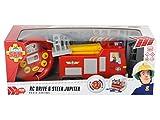Dickie-Spielzeug 203097000 - IRC Feuerwehrmann Sam, Fireman Drive und Steer Jupiter