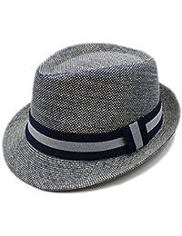 Sunny Baby Verano Mujeres Hombres de Lino Sombrero de Playa Sombrero de ala para  Dama Elegante 417d7ea69bb