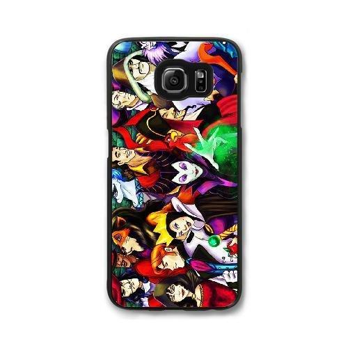 Hard Snap-On Protective Case for Samsung Galaxy S7 [JFALOJLJ49452] CUSTOM DISNEY VILLAINS THEME Samsung Galaxy S7 Case - Black