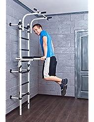 Christopeit Athlet 2W + Dips Station zu Artikel Athlet 1D und Athlet 2W