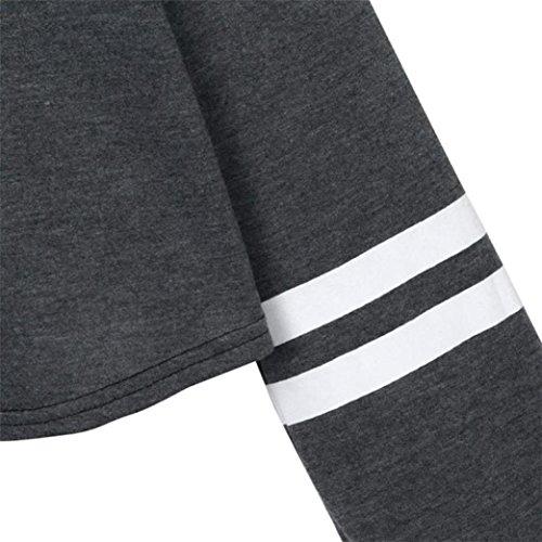 OverDose Donna Ragazza Felpe Pullover Camicetta Maglia,Sono Disponibili 18 Colori e Stili,XS-XXL giallo_F