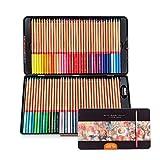Lightwish–72Count Premium Distinctes de crayons de couleur pour des livres de coloriage pour adulte–Pré-affûtée–Numéro de couleur sur Crayons (lot de crayons)