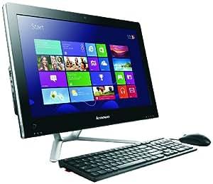 Lenovo VEP1AUK C340 20 inch All-in-One PC (Intel Core i3 3220 3.3GHz Processor, 4GB RAM, 1TB HDD, DVDRW, LAN, WLAN, Webcam, Integrated Graphics, Windows 8) - Black