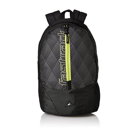 Fastrack 23.65 Ltrs Black School Backpack (A0684NBK01)