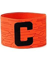 Brazalete de capitán ANAM para fútbol, naranja
