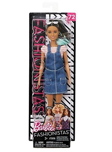 Barbie Muñeca fashionista Mono de moda (Mattel FJF37)