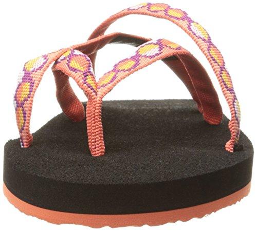 Teva Olowahu W's, Tongs Femme Orange (Zaro Tiger Lily)