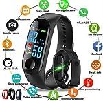 Shree Krishna Intelligence Bluetooth Health Wrist Smart Band Watch Monitor/Smart Bracelet/Health Bracelet/Smart Watch for...