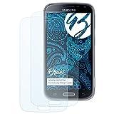 Bruni Schutzfolie für Samsung Galaxy K Zoom Folie - 2 x glasklare Displayschutzfolie