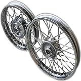 #3: ASCO 95078 Classic 350 Spoke Wheels Rim Set for Royal Enfield ( Front & Rear )