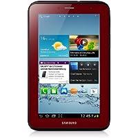 Samsung Galaxy Tab 2 GT-P3110GRADBT WiFi only Tablet (1GHz Dual Core Prozessor, 17,8 cm (7 Zoll) Touchscreen, 3,2 Megapixel Kamera, 8GB Speicher, WiFi, Android 4.0) garnet-red